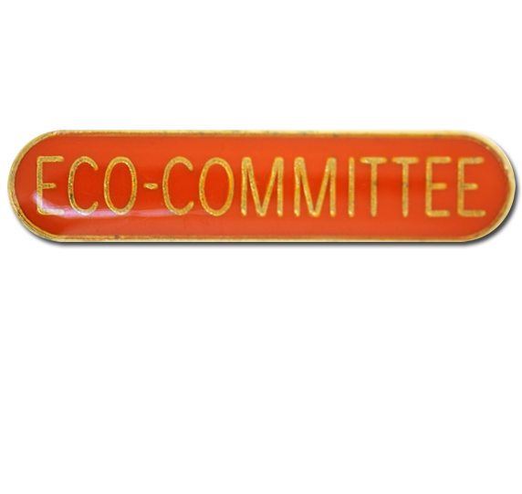Eco-Committee Rounded Edge Bar Badge
