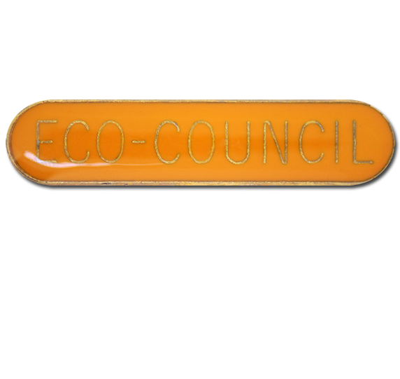 Eco-Council Rounded Edge Bar Badge