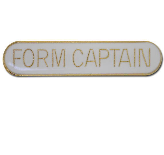 Form Captain Rounded Edge Bar Badge