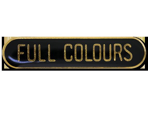 Full Colours Rounded Edge Bar Badge