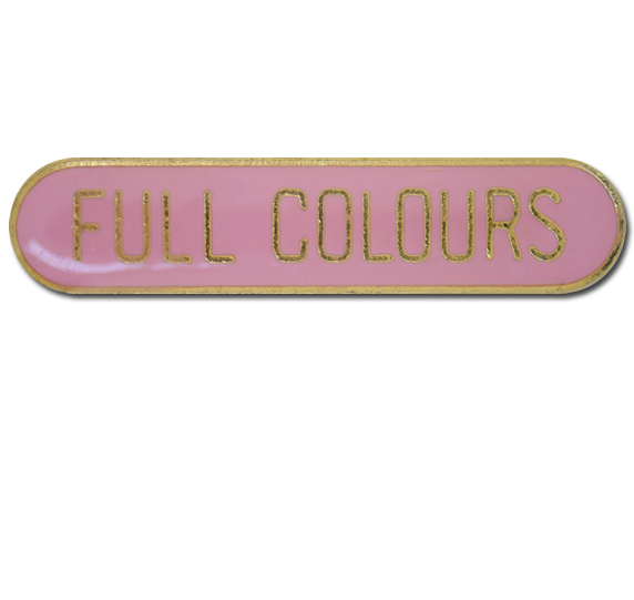Full Colours Rounded Edge Bar Badge