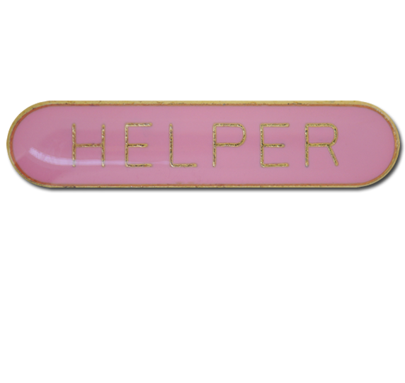 Helper Rounded Edge Bar Badge