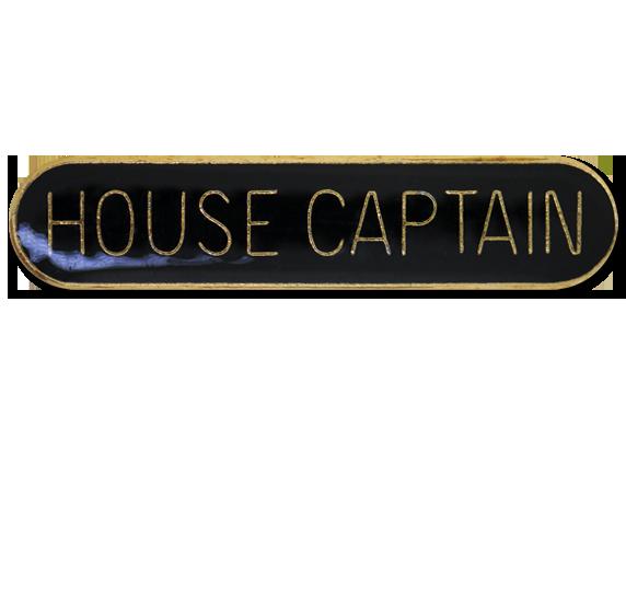 House Captain Rounded Edge Bar Badge