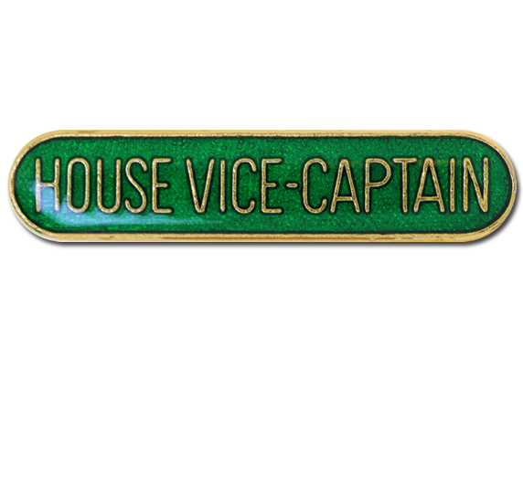 House Vice-Captain Rounded Edge Bar Badge