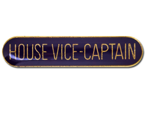 House Vice-Captain Rounded Edge Bar Badge