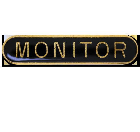 Monitor Rounded Edge Bar Badge