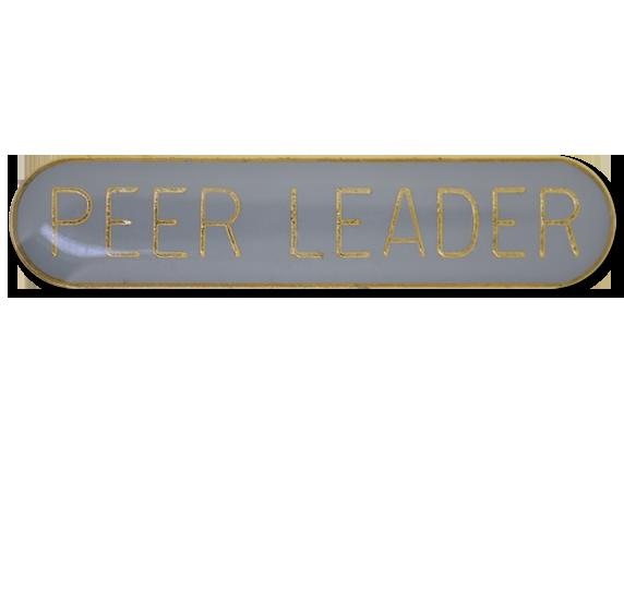 Peer Leader Rounded Edge Bar Badge