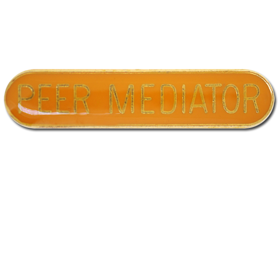 Peer Mediator Rounded Edge Bar Badge