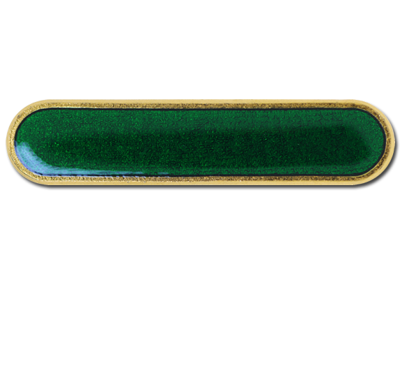 Plain Bar Rounded Edge Bar Badge
