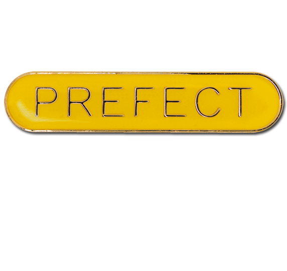 Prefect Rounded Edge Bar Badge