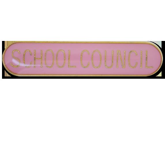 School Council Rounded Edge Bar Badge
