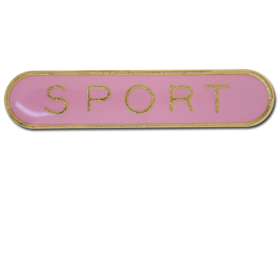 Sport  Rounded Edge Bar Badge