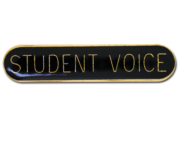 Student Voice Rounded Edge Bar Badge
