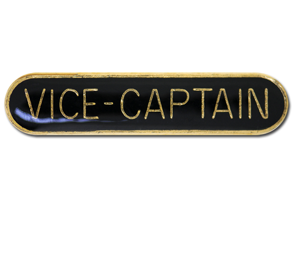 Vice-Captain Rounded Edge Bar Badge