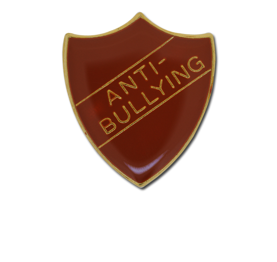 Anti-bullying Enamelled Shield Badge
