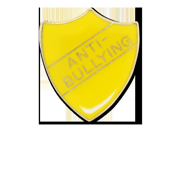 Anti-bullying Enamelled Shield Badge