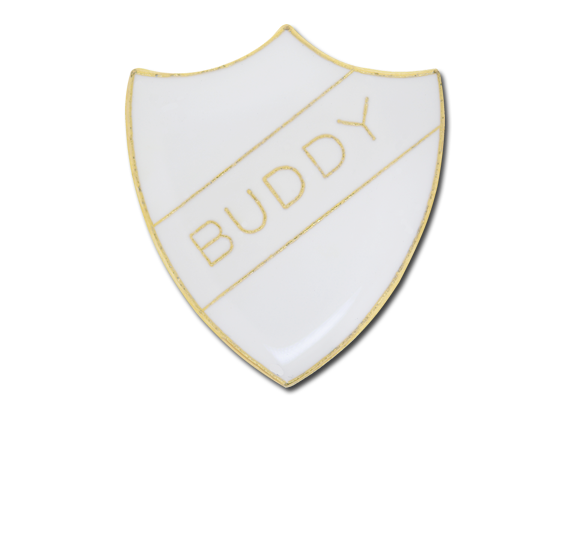 Buddy Enamelled Shield Badge