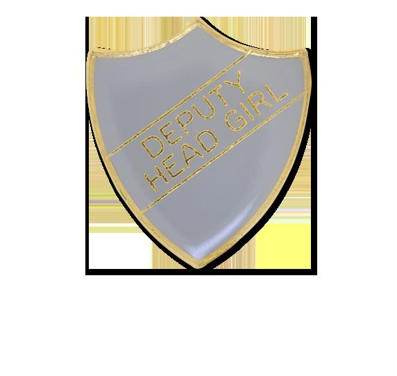 Deputy Head Girl Enamelled Shield Badge