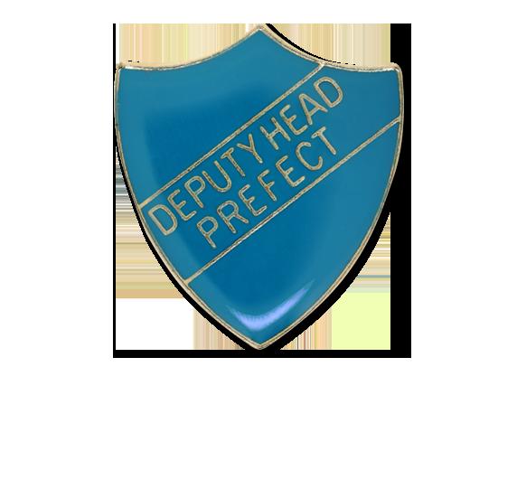 Deputy Head Prefect Enamelled Shield Badge