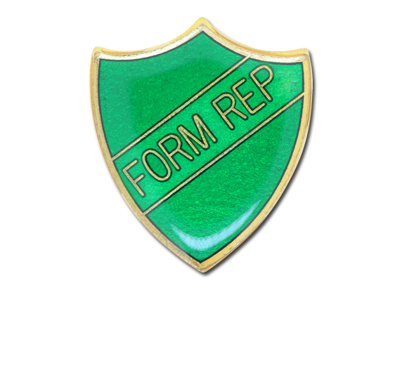Form Rep Enamelled Shield Badge