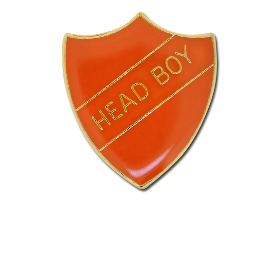 Head Boy Enamelled Shield Badge