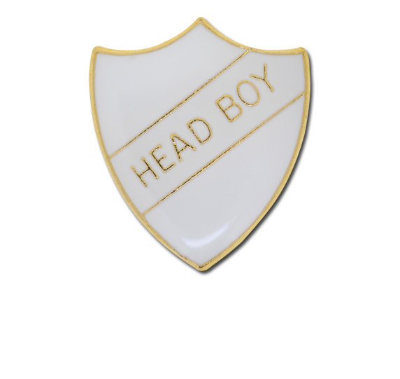 Head Boy Enamelled Shield Badge
