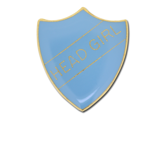 Head Girl Enamelled Shield Badge