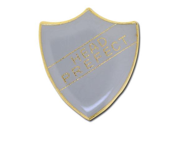 Head Prefect Enamelled Shield Badge