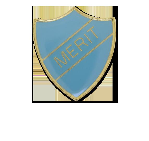 Merit Enamelled Shield Badge