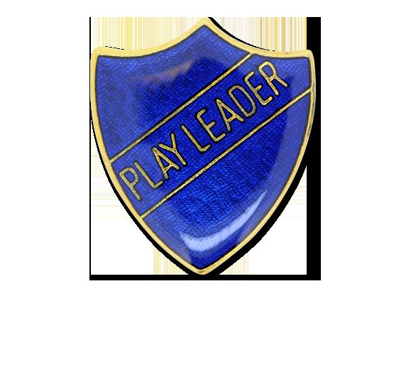Play Leader Enamelled Shield Badge