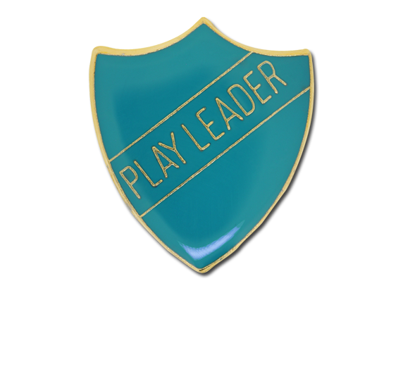 Play Leader Enamelled Shield Badge
