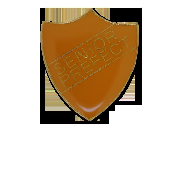 Senior Prefect Enamelled Shield Badge
