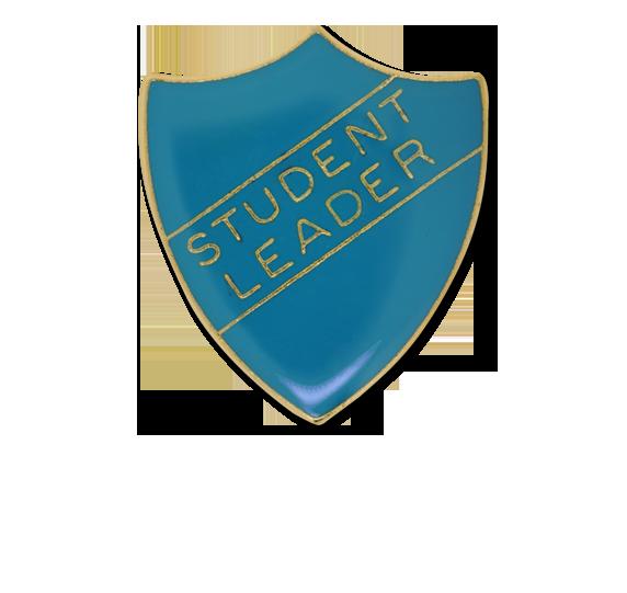 Student Leader Enamelled Shield Badge