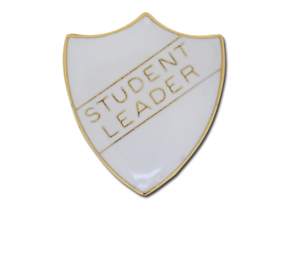 Student Leader Enamelled Shield Badge