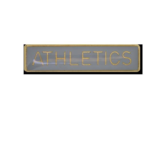 Athletics Small Bar Badge