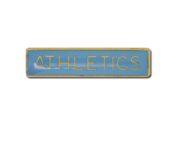 Athletics Small Bar Badge