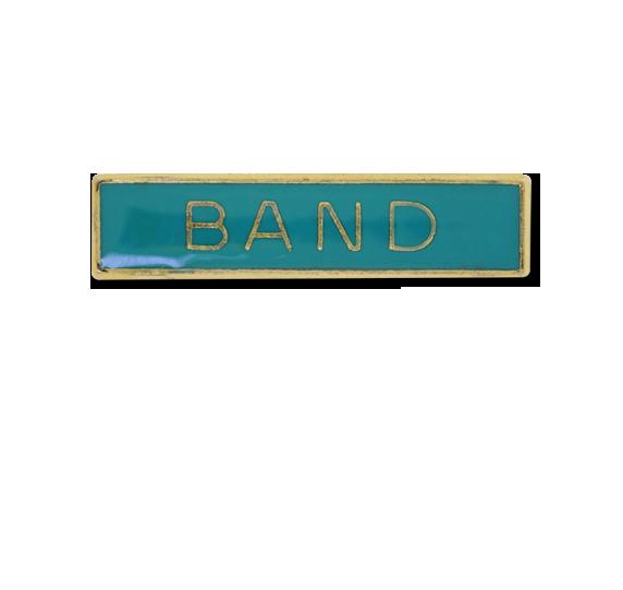 Band Small Bar Badge