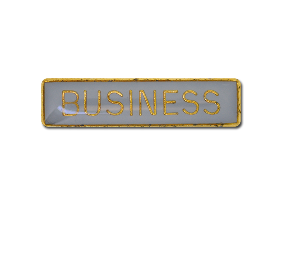 Business Small Bar Badge