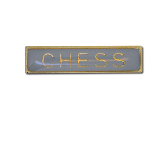 Chess Small Bar Badge