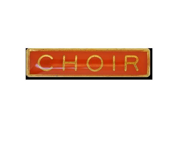 Choir Small Bar Badge