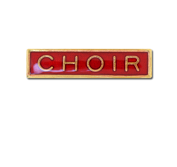 Choir Small Bar Badge