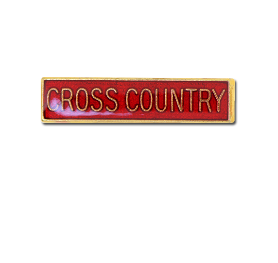 Cross Country Small Bar Badge