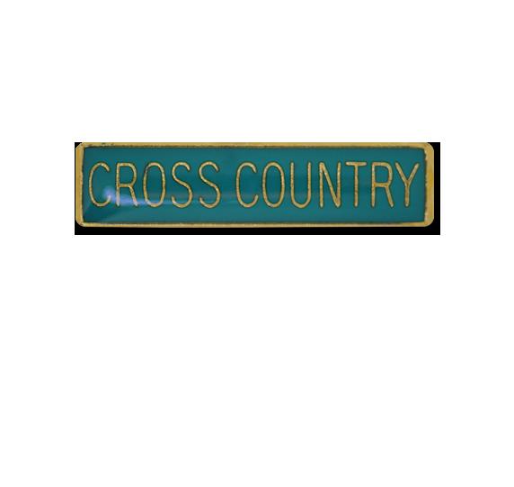 Cross Country Small Bar Badge