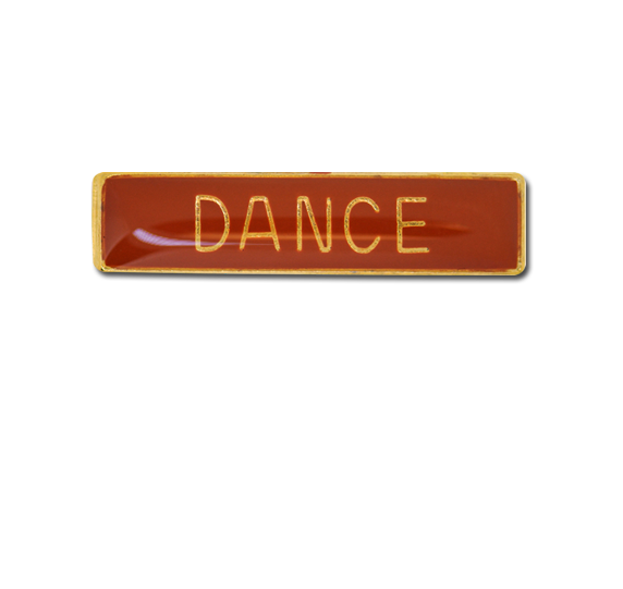 Dance Small Bar Badge