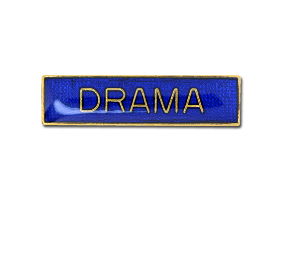 Drama Small Bar Badge