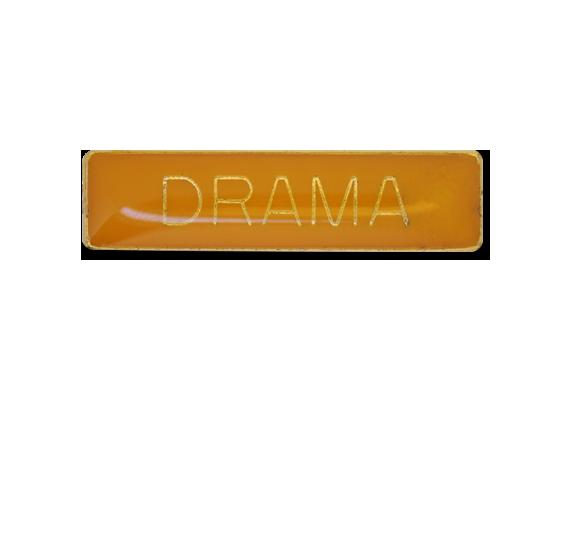 Drama Small Bar Badge