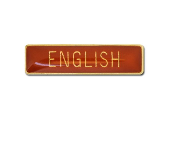 English Small Bar Badge