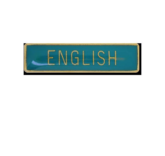 English Small Bar Badge