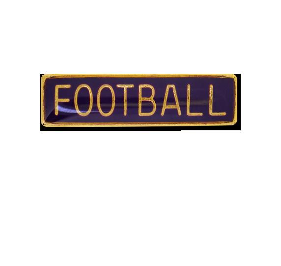 Football Small Bar Badge