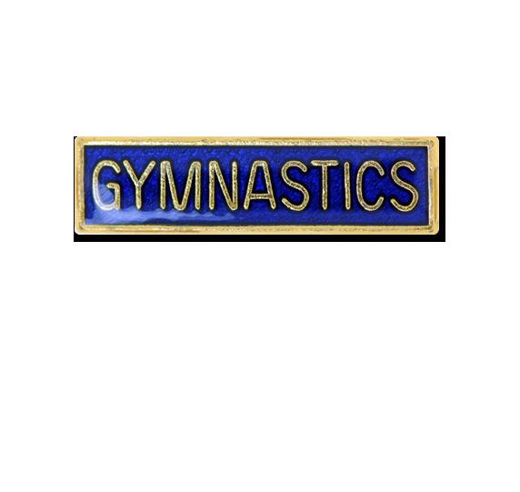 Gymnastics Small Bar Badge